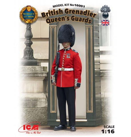 British Granadier Queen's Guards - scala 1:16 - ICM 16001