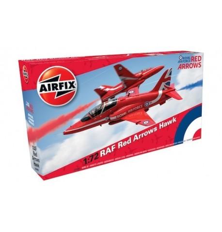 RAF Red Arrows Hawk - scala 1:72 - AIRFIX A02005C