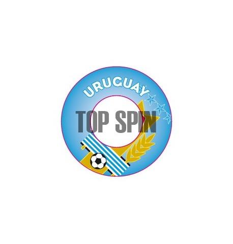 Adesivi per dischetti AL1 - URUGUAY