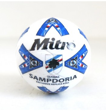 Pallina con decals BIANCO MITRE ULTIMAX SAMPDORIA 1996