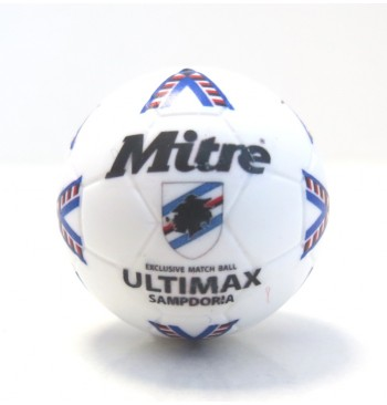 Pallina con decals BIANCO MITRE ULTIMAX SAMPDORIA 1996-97