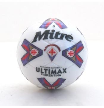 Pallina con decals BIANCO MITRE ULTIMAX FIORENTINA 1996-97