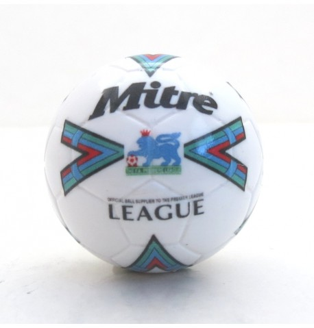 Pallina con decals BIANCO MITRE PREMIER LEAGUE 1986