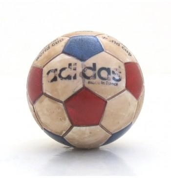 Pallina con decals BIANCO Tricolore World Cup 1974 effetto USURA