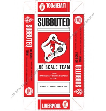 Scatola replica SPECIALE colorata - LIVERPOOL