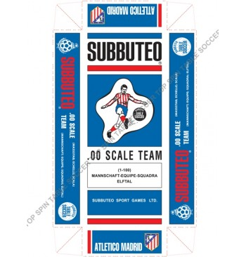 Scatola replica SPECIALE colorata - ATLETICO MADRID
