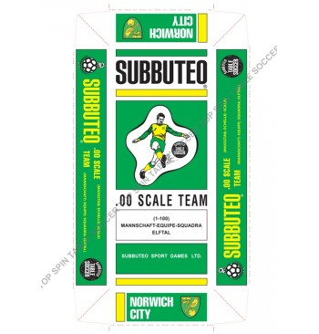 Scatola replica SPECIALE colorata - NORWICH CITY