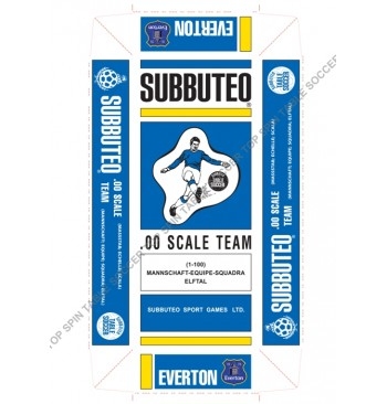 Scatola replica SPECIALE colorata - EVERTON