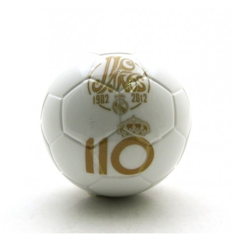 Pallina con decals - REAL MADRID 110 anni