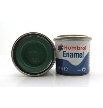 Colori Humbrol - cod. 101 VERDE SMERALDO OPACO