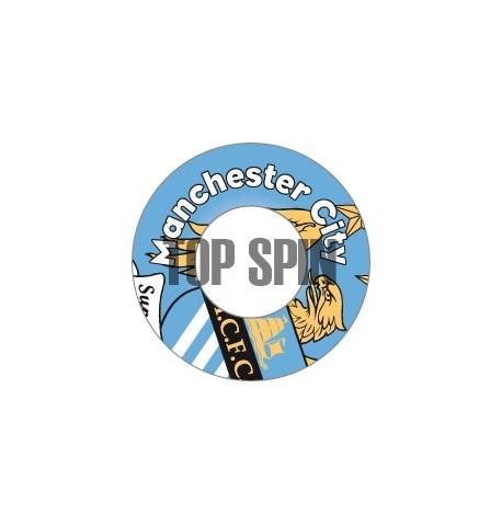 Adesivi per dischetti AL1 - MANCHESTER CITY