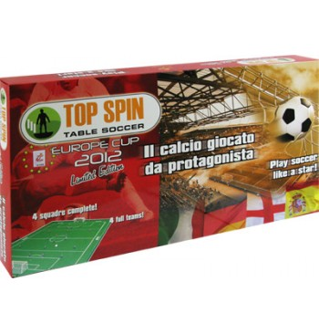Top Spin EUROPE CUP 2012 - LIMITED EDITION